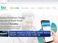 Listing, Saham Bank Amar & Cisadane Terbang!