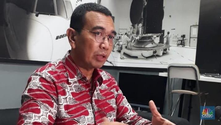 Staf Khusus Menteri BUMN, Arya Sinulingga (CNBC Indonesia/Ferry Sandi)