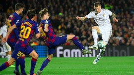 Real Madrid vs Barcelona Tak Terganggu Virus Corona