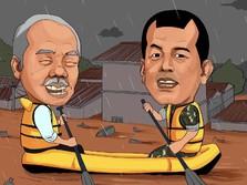 Titah-Titah Jokowi Buat Kepala Daerah yang Kena Banjir