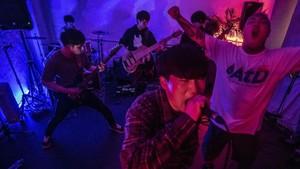 FOTO: Skena Musik Hardcore 'Meraung' di Korea Selatan