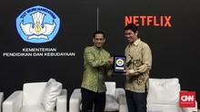 Nadiem Beberkan Alasan Kerja Sama dengan Netflix