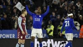 Hasil Piala Liga Inggris: Leicester Ditahan Imbang Villa 1-1
