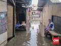 Warga Pesisir Terbiasa Banjir: Belum Kering Sejak Tahun Baru