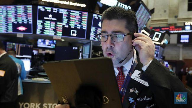 Dow Jones Dibuka Anjlok 2.250 Poin, Trading Kembali Disetop!