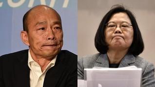 Kandidat Pro dan Anti-China Bersaing di Pilpres Taiwan