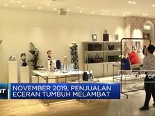 Penjualan Eceran Tumbuh Melambat pada November 2019