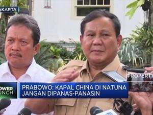Begini Respon Prabowo Dituding 'Lembek' Soal Natuna
