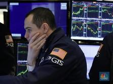 Corona Makin Menjadi di AS, Wall Street 'Kebakaran'