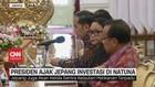 VIDEO: Presiden Ajak Jepang Investasi di Natuna