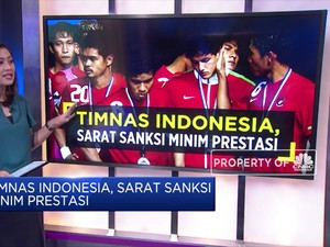 Timnas Indonesia, Sarat Sanksi Minim Prestasi