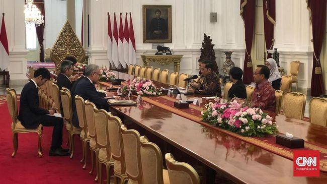 Jokowi Ajak Jepang Kembali Investasi di Natuna