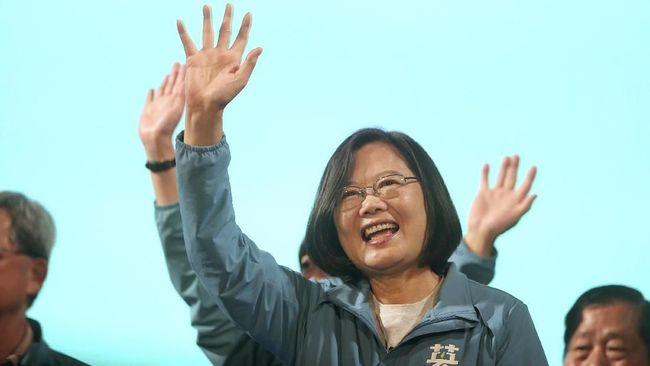 Capres Petahana Tsai Ing-wen Unggul Sementara Pilpres Taiwan