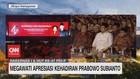VIDEO: Megawati Apresiasi Kehadiran Prabowo di HUT ke-47 PDIP