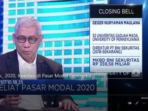 BNI Sekuritas: 2020, Investasi di Pasar Modal Diproyeksi Naik