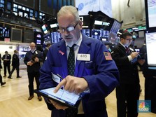 Wall Street Kompak Ditutup Hijau, Saham-saham Tech Melejit