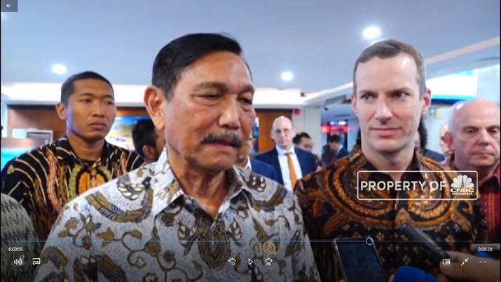 Luhut: AS Komitmen Investasi Miliaran Dolar ke RI  (CNBC Indonesia TV)