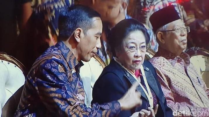 Pidato itu disampaikan dalam pembukaan rapat kerja nasional I sekaligus peringatan HUT ke-47 PDIP di JIExpo, Kemayoran, Jakarta, Jumat (10/1/2020).