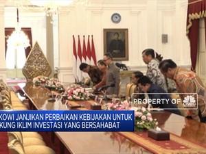 Ini Gaya Jokowi Sambut Investor AS di Istana