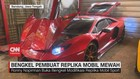 VIDEO: Bengkel Replika Mobil Mewah Bandung