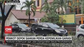 VIDEO: Pemilik Mobil Tanpa Garasi di Depok Akan Didenda
