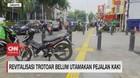 VIDEO: Revitalisasi Trotoar Belum Utamakan Pejalan Kaki