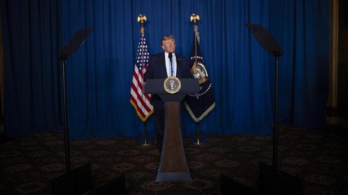 Senat AS akan mulai sidang pemakzulan Donald Trump hari ini, Selasa (21/1/2020).