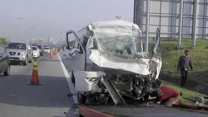 Pebulutangkis No 1 Dunia Kecelakaan Parah di Malaysia