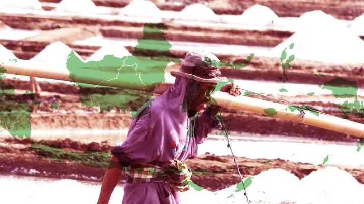 [DALAM] Indonesia Mabuk Garam Impor