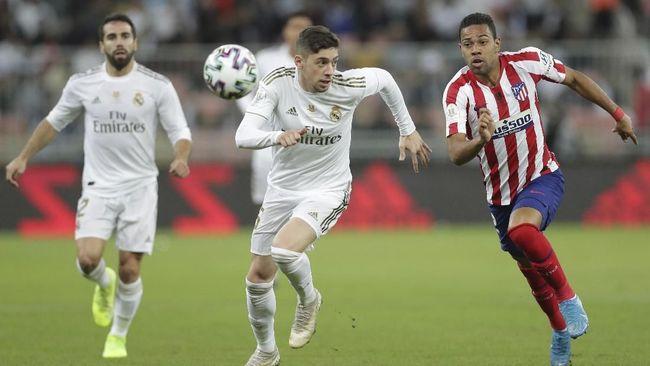 Lakukan Tekel kepada Morata, Valverde Justru Dipuji Simeone