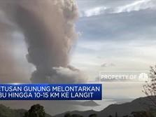 Gunung Api Taal Filipina Erupsi, Bandara Ditutup