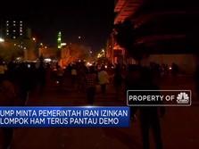 Viral, Beredar Video Dugaan Iran Tembak Para Pendemo