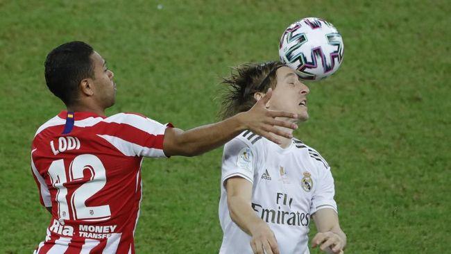 Madrid vs Atletico Imbang di Babak Pertama