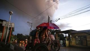 Gunung Taal Erupsi, Mahasiswa RI di Filipina Akan Dievakuasi