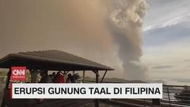 VIDEO: Gunung Taal Meletus, KBRI Koordinasi Dengan WNI