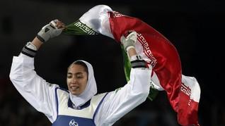 Atlet Olimpiade Iran Pindah Warga Negara karena Tertindas