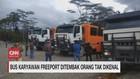 VIDEO: Bus Karyawan Freeport Ditembak Orang Tak Dikenal