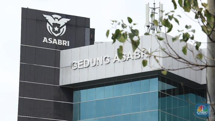 Ilustrasi Gedung Asabri (CNBC Indonesia/Tri Susilo)