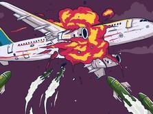Tragedi Ukraina, Ini Deretan Pesawat yang Jatuh karena Rudal