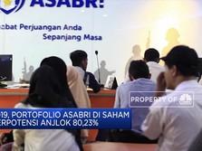 Investasi Asabri di Saham Berpotensi Anjlok Rp 7,47 T