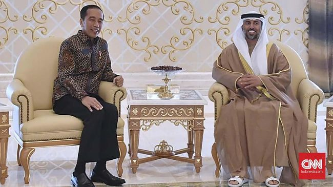 Ibu Kota Baru, Jokowi Mengaku Tak Kuat Menggaji Pangeran MBZ