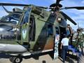 Sebelum ke Abu Dhabi, Presiden Tinjau Helikopter Caracal