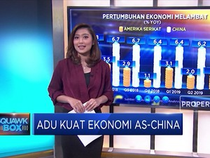 Adu Kuat Ekonomi AS-China
