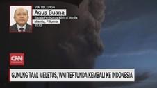 VIDEO: Gunung Taal Filipina Meletus, Kepulangan WNI Tertunda