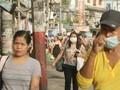 VIDEO: Warga Manila Waspadai Abu Erupsi Gunung Taal