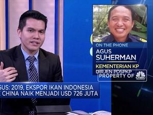 KKP: RI Masih Surplus Perdagangan Perikanan dengan China