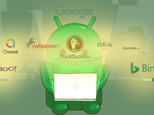 Monopoli Google Bakal Usai di Android, Nih Mesin Pencari Baru