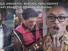 Detik-detik Bentjok, Hary & Heru Hidayat Ditahan Kejagung