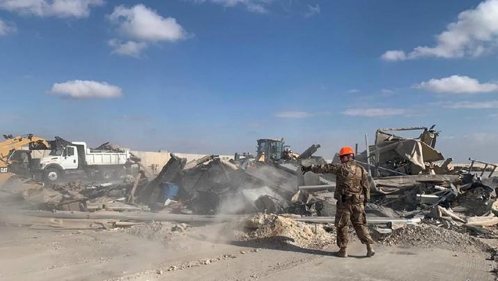 Iran Tembak Rudal ke Pangkalan Militer AS, 11 Tentara Terluka