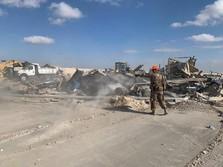 Roket Hantam Kedubes AS di Irak, Trump Rapat dengan Israel